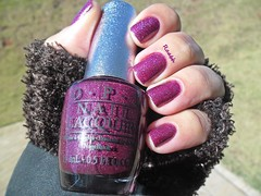 DS Extravagance - OPI (Desafio Repeteco - 02) (Raabh Aquino) Tags: purple burgundy nails nailpolish vinho unhas roxo repost holographic opi esmaltes naillacquer hologrfico maysuperlaunchterms