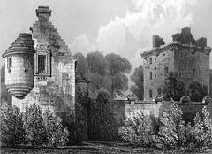 Edzell Castle (43) (arjayempee) Tags: edzellcastle angus forfarshire scotland castle towerhouse mounthpasses glenesk northesk lindsayofedzell earlofcrawford edzellcastlegardens stirlingofglenesk baronyofglenesk fortress courtyardcastle