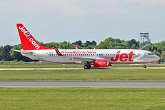 "G-GDFX Boeing 737-8K5 Jet2.com MAN 03-06-16 (PlanecrazyUK) Tags: egcc manchester man ringway ""manchester airport"" ggdfx boeing7378k5 jet2com 030616"