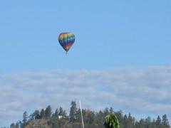 Colourful balloon (jamica1) Tags: canada hot balloons bc okanagan air columbia british rutland