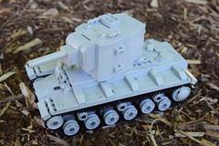 Lego KV-2 (Weegee011) Tags: lego russian kv2 tank wwii ww2