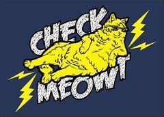Check Meowt (Make Vancouver) Tags: cat stock stephanie dtg checkmeowt