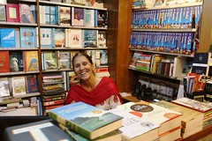 The True Representation of the Happy Spirit of Any Independent Bookstore Anywhere in the World (Mayank Austen Soofi) Tags: world true last happy evening saw spirit delhi nini any bookstore independent bookshop representation kd anywhere singh walla the