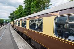 Pullman (davep90) Tags: station train track fuji diesel yorkshire rail railway fujifilm moors 1024 grosmont davep90