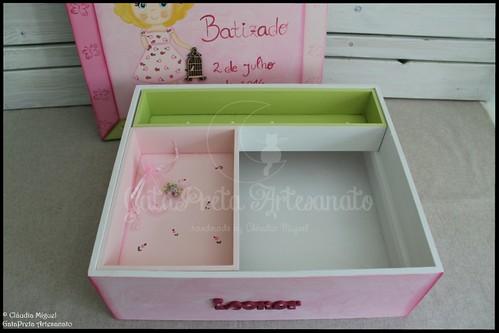 """Caixa grande de batizado """"Birdie Princess"""""""