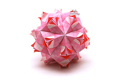 Selene Sonobe (Akizhi) Tags: art paper origami crafts modular kusudama