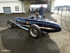 (BenGPhotos) Tags: blue classic sports car sport race start vintage spring fast racing silverstone motor motorsport vscc clun autosport 2016