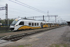 KD 31WE-001 , Wgliniec train station 30.04.2013 (szogun000) Tags: railroad station electric set train canon tren poland polska rail railway commuter emu passenger trem treno kd ezt impuls pkp pocig  newag lowersilesia dolnolskie dolnylsk wgliniec kolejedolnolskie canoneos550d canonefs18135mmf3556is d29279 31we001 31we d29282 d29278 d29295