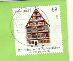 Deutschland May (postcardlady1) Tags: stamp briefmarke