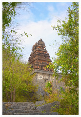 | A hindu temple in the ruins of Gingee Fort| (Rajendran Rajesh) Tags: tamilnadu gingeefort  troyoftheeast  villupuramdistrict  dsc7624flickr