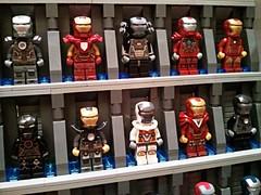 [MOC] Stark Industries Armory - Iron Man Hall of Armor LEGO