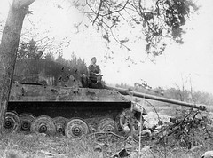 "Damaged  ""King Tiger"" in the woods. (Krueger Waffen) Tags: history war tank military thirdreich wwii armor ww2 armour armored tanks panzer kingtiger secondworldwar afv worldwartwo armoredvehicle warfare armoured armoredcar wehrmacht markvi tigertank pzkpfw tigerii panzerkampfwagen royaltiger pzkpfwvi secondworldwartanks worldwartwotanks tanksofthesecondworldwar"