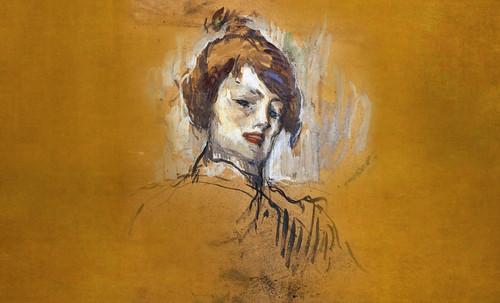 "Las Madeleines escuchando la soleada soledad, descripciones de Henri de Toulouse Lautrec (1889) y Pablo Picasso (1904). • <a style=""font-size:0.8em;"" href=""http://www.flickr.com/photos/30735181@N00/8815692860/"" target=""_blank"">View on Flickr</a>"