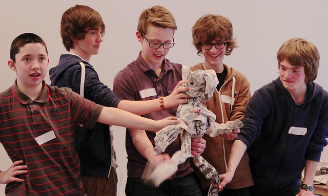 LiveWire Creative Careers Week - Theatre Puppet Making 6