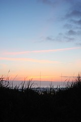 (❀abby❀) Tags: ocean sunset sky beach vertical clouds digital landscape outdoors sand quality vanth qualityphotography verticalphotography