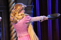 The Tales of Tangled (jodykatin) Tags: disneyland disney rapunzel tangled facecharacter theroyaltheatre thetalesoftangled