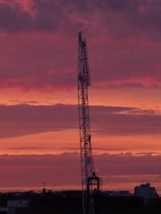 building the sky (Hawksky- slow like FF ;-))) Tags: sunset sky orange clouds buildings craine blinkagain bestofblinkwinners blinksuperstars bestofsuperstars