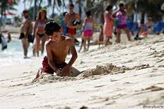 Nio en la Playa (@ Mary Duarte) Tags: beach kid playa nio sanandrs sanandresislas maryduarte
