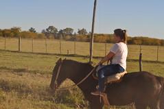 Cabalgando en San Antonio de Areco (Lucas Lasagna) Tags: horse de caballos countryside nikon san ride riding antonio cabalgata areco d5000