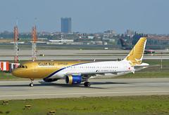 Gulf Air Airbus A320-214 A9C-AJ (EK056) Tags: airport gulf air istanbul airbus atatrk a320214 a9caj