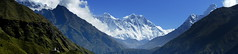 Valley to the Roof of the World (PerkyBeans) Tags: nepal camp mountain green trek view stupa extreme peak panoramic clear mount valley ama summit himalaya everest epic base dablam