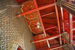 Bangkok. Grand Palace. Wat Phra Kaew. Temple of the Emerald Buddah (Juan C. Garca Lorenzo) Tags: travel thailand temple nik