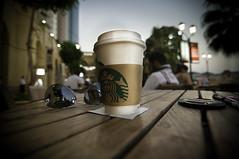 Starbucks JBR, Dubai (Fehd Siddique) Tags: beach coffee dubai drink walk emirates starbucks jumeira the