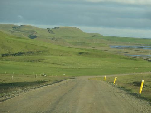 Island 2013 678 Strasse 208 Abzweig F208 - Einmündung 1