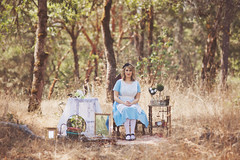 A Very Merry Unbirthday (Cloudy Day Photography) Tags: portrait white rabbit fashion canon photography book mark alice creative lewis story fairy ii 5d carroll wonderland tale styled