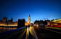 Westminster Bridge in the Evening (Anatoleya) Tags: city bridge 3 london westminster canon evening shadows mark iii sigma parliament bigben clocktower 5d 1224mm hdr mk 5d3 anatoleya
