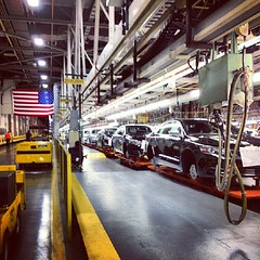 GM plant tour was awesome!!!