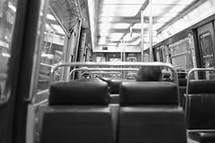 Subway, Paris (Amelien (Fr)) Tags: blackandwhite bw paris france 35mm subway ledefrance fuji noiretblanc metro crteil nb fujifilm fujinon xpro1