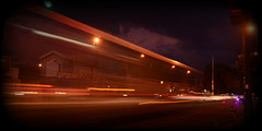 Todo pasa tan rpido /Everything happen so fast (AlanC6277) Tags: auto life street luz car sonora night mexico photography lights luces noche calle amazing nikon boulevard place shot bright free fast run latinoamerica times urbano baja velocidad brillante faster fotografa exposicin tripie veloz undoor d3100