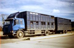 Scania livestock drawbar Broxholmes Transport Lincolnshire (SR Photos Torksey) Tags: truck cattle transport lorry livestock