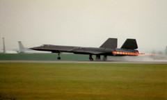 9SRW, US Air Force, SR-71A Blackbird, Mildenhall c1989 (marbowd37) Tags: 80s usaf blackbird mildenhall sr71a 9srw