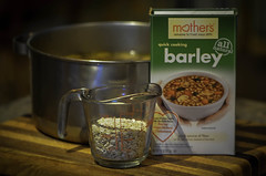 The Flickr Lounge-Half A Cup Of Barley (It Sure Feels Like Fall, Love It!!!) Tags: cooking cup barley box board measuringcup chickensoup week12fromoctober21stthru27th~half halfcupbarley