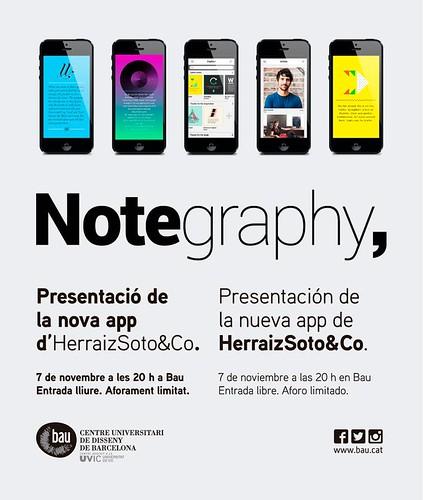 Herraiz Soto & Co presenta Notegraphy en Bau