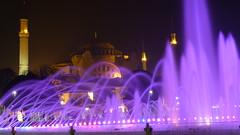 HAGIA SOPHIA (CR BAD ASS) Tags: istanbul luci nuit sophia notte feux hagia gece    iiklari