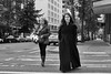 Woman in Black 1 (mfenne) Tags: seattle street leica fall monochrome photography downtown afternoon phil sunday monochrom dralaimagesmarlowefenne