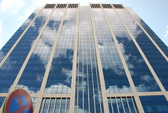 La Tour des Finances aux nuages