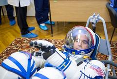 Expedition 38 Prelaunch (201311070046HQ) (NASA HQ PHOTO) Tags: nasa kazakhstan baikonur rickmastracchio baikonurcosmodrome roscosmosrussianfederalspaceagency russiansokolsuit expedition33 expedition38 irinapeshkova expedition38prelaunch