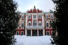 Kadriorg Art Museum (http://visittallinn.ee/eng) Tags: park winter snow museum architecture tallinn estonia palace artmuseum baroque kadriorg nicolamichetti