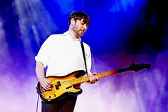 Happy Birthday, Alex James! (BLUR!!!!) (kirstiecat) Tags: music blur concert live smoke band coachella british birthdays cinematic belated britpop alexjames