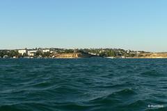 Севастополь, поездка на катере по Севастопольской бухте, северная часть города