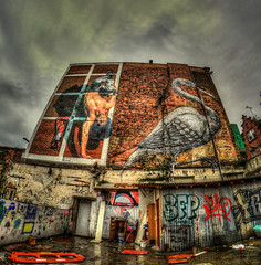 Martin Ron / Roa (Suggsy69) Tags: streetart london art graffiti nikon fisheye bricklane hdr spraycanart roa samyang d5200 martinron