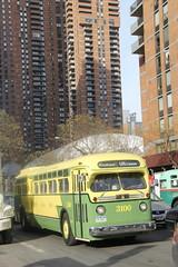 IMG_4955 (GojiMet86) Tags: mta nyc new york city bus buses 1956 1958 tdh5106 3100 9098 m42 42nd street 9th avenue