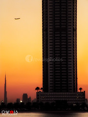 (OwaisPhotography (www.facebook.com/owaisphotos)) Tags: world sunset building beach sunrise airplane nikon dubai uae khalifa record coolpix sharjah dxb tallest p80 burjkhalifa owaisphotography gettyimagespakistanq12012 gettyimagesmiddleeast