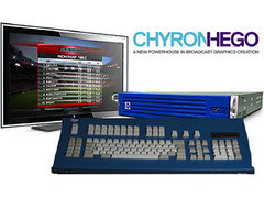 CHYRONHEGO Graphic/3D Character Generator