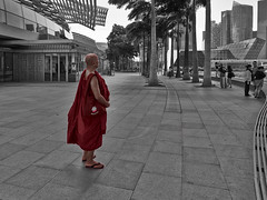 _C160035 (Plototot Tot) Tags: street city red color marina bay louis singapore outdoor monk olympus 12mm slippers vuitton lv omd separation shoppe the f20 tsinelas em5