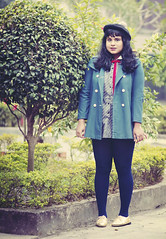 04 (kittehinfurs) Tags: autumn winter india fall vintage outfit mod 60s dress fat indian adorable fatty woc obesity sixties obese poc asos obesityepidemic donkeyjacket fatshionista fatshion ootd 200lbs fattyinadress pocfatshion